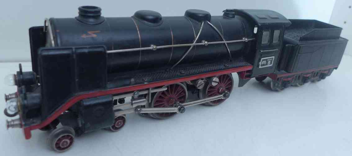 marklin maerklin e 66/12920 railway toy engine 20 volt locomotive tender black gauge 0
