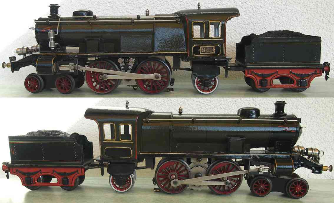 marklin maerklin ece 65/13021 toy engine 20 volt steam locomotive olivegreen gauge 1