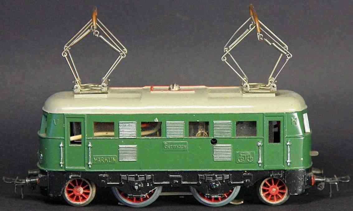 marklin maerklin es 800-2 railway toy engine express locomotive green gauge h0