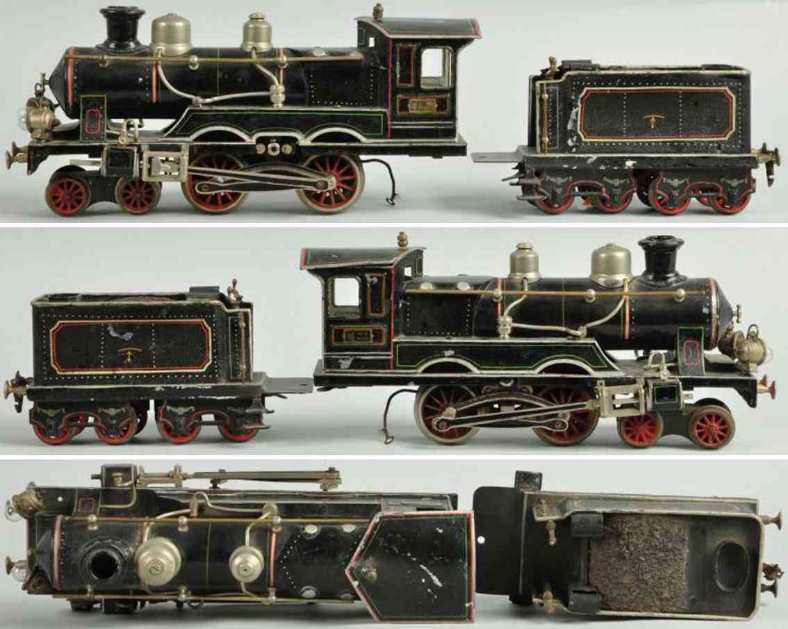 maerklin fe 3021 eb starkstrom-dampflokomotive spur 1