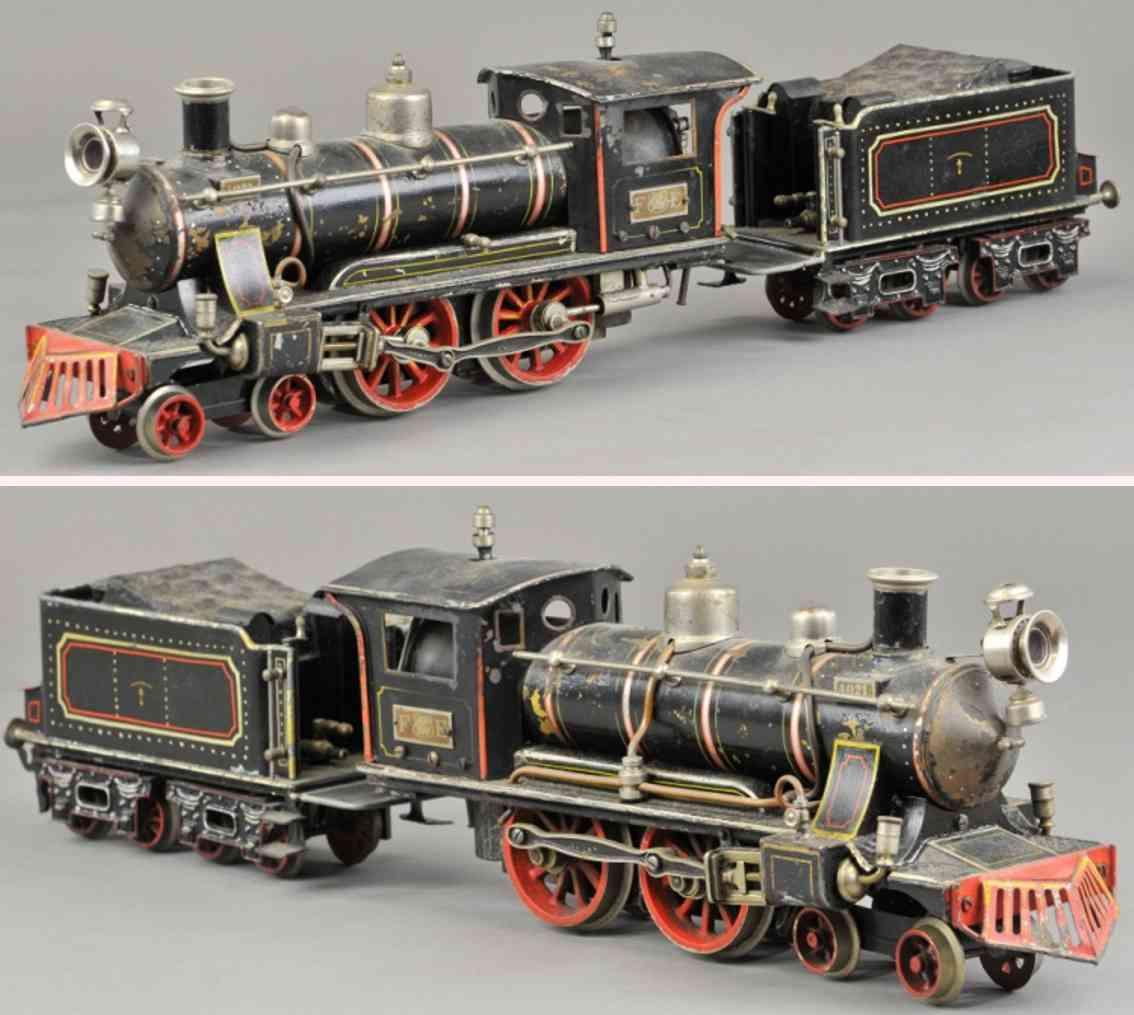 maerklin fe 4021 amerikanische spiritus-dampflokomotive spur 1