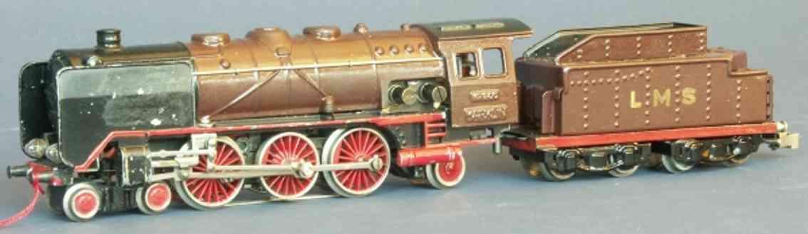 maerklin hr 800 lms-1 spielzeug eisenbahn schlepptenderlokomotive tender rot spur h0