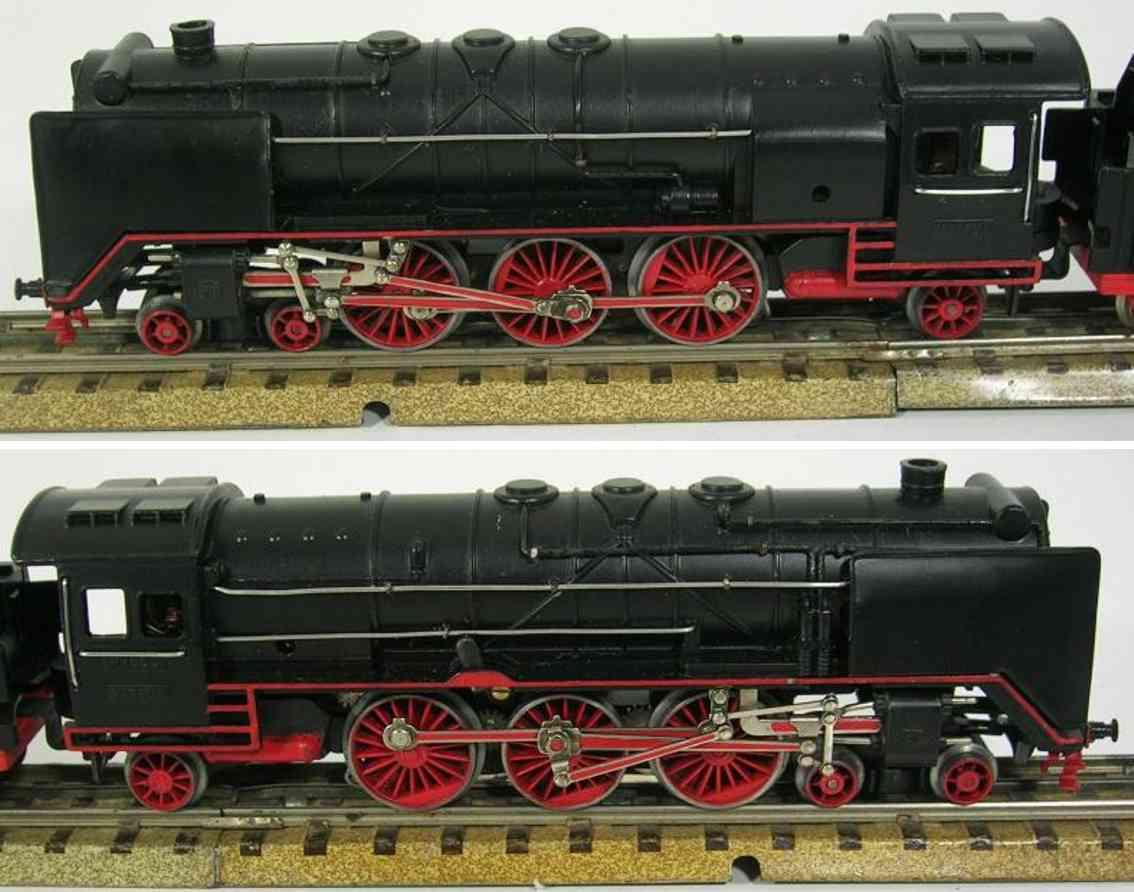 maerklin hr 800 n spielzeug eisenbahn dampflokomotive schwarz spur h0