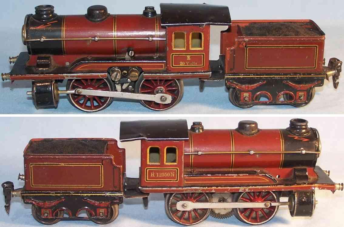 maerklin r 12950 spielzeug eisenbahn 20 volt dampflokomotive mit tender r959 spur 0