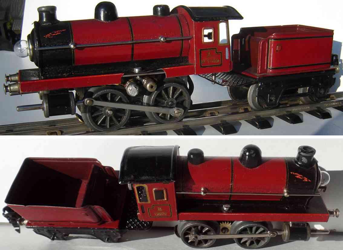 maerklin r12970 spielzeug lokomotive 20 volt dampflokomotive rot schwarz spur 0