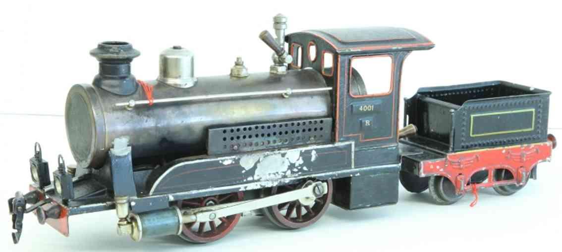 maerklin r 4001 spielzeug eisenbahn schlepptenderlokomotive tender schwarz spur 1