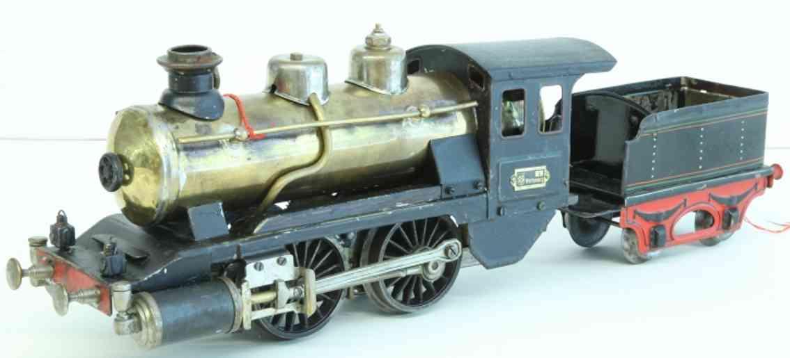 maerklin r 4021 spielzeug eisenbahn spiritus-schlepptenderlokomotive schwarz spur 1
