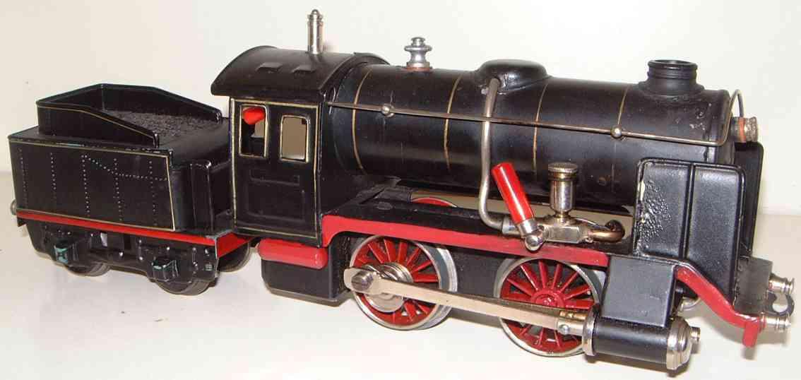 maerklin r 4910 spielzeug eisenbahn spiritus-dampflokomotive mit tender spur 0