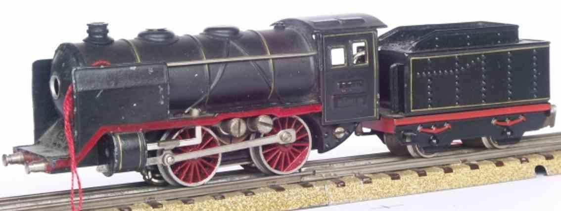 maerklin t 700-4 spielzeug eisenbahn schlepptenderlokomotive schwarz spur h0