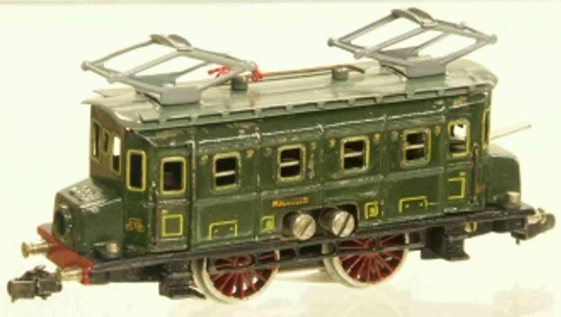 maerklin rs 700-1 spielzeug eisenbahn elektrolokomotive gruen spur h0