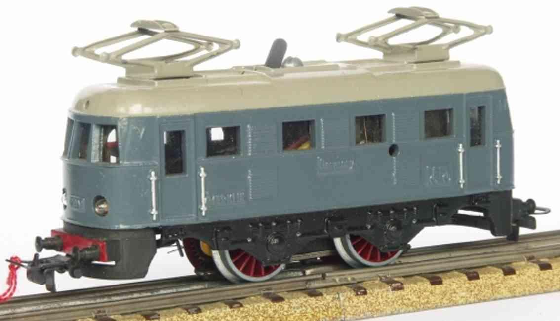 maerklin rs 790-1 spielzeug eisenbahn elektrolokomotive grau spur h0