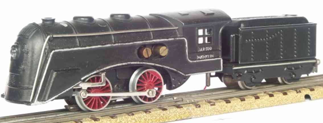 maerklin slr 800-1 spielzeug eisenbahn schlepptenderlokomotive schwarz spur h0