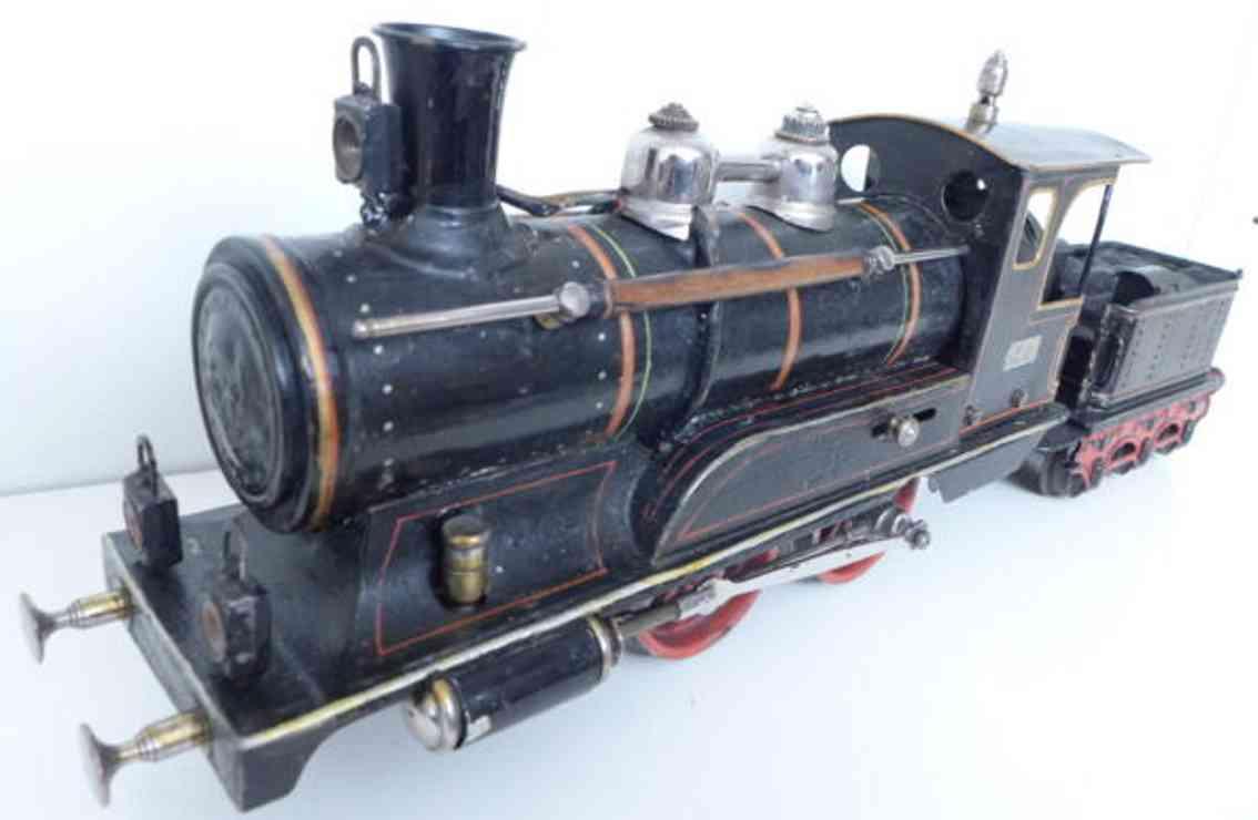 maerklin spielzeug eisenbahn spiritusdampflokomotive spur 1