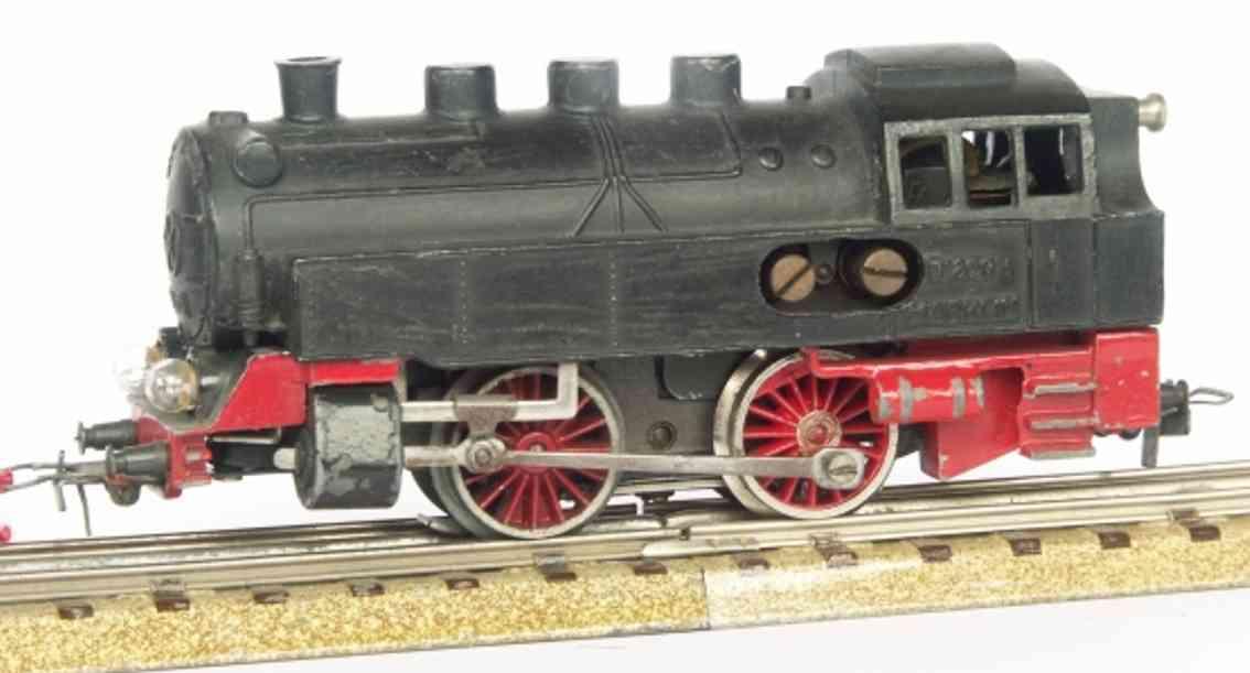 maerklin t 800-4 spielzeug eisenbahn tenderlokomotive schwarz spur  h0