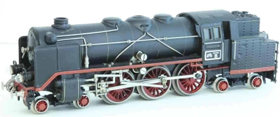 maerklin tk 70/12920 spielzeug eisenbahn 20 volt tender-dampflokomotive schwarz spur 0