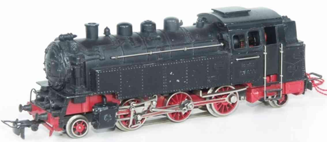 maerklin tp 800-2 spielzeug eisenbahn tenderlokomotive schwarz spur  h0