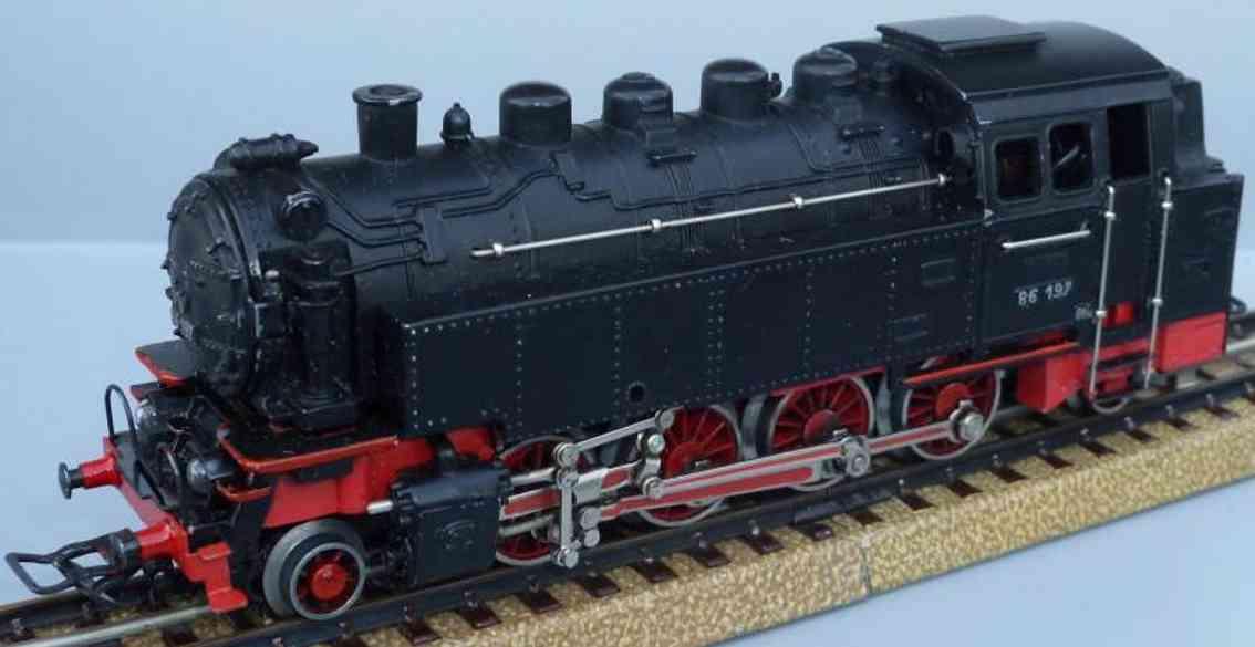 maerklin tt 800-2 eisenbahn dampflokomotive spur h0