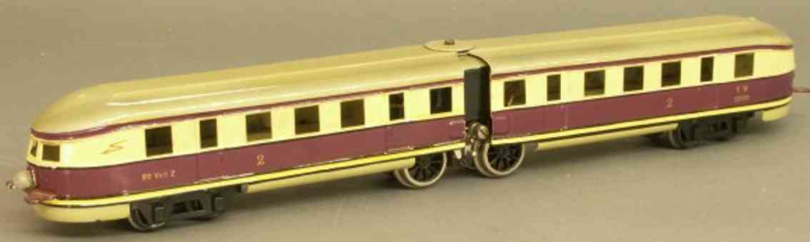 maerklin tw 12970 eisenbahn lokomotive fliegender hamburger spur 0