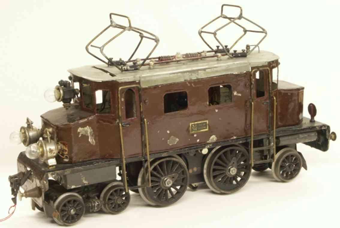maerklin  spielzeug eisenbahn werkstattmodell starkstrom vollbahnlokomotive spur 2