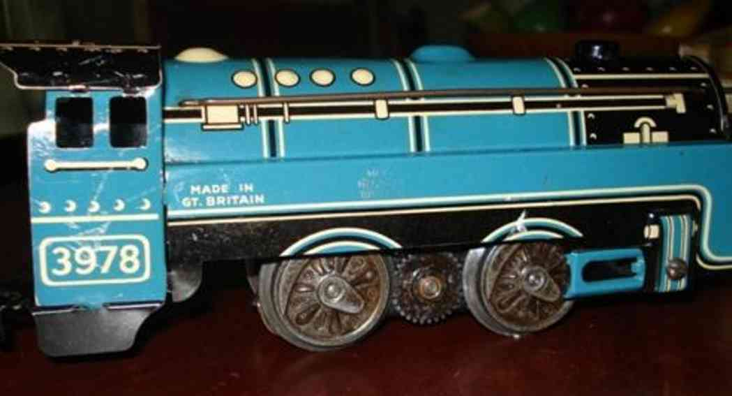 marx louis 3978 spielzeug eisenbahn lokomotive mit tender