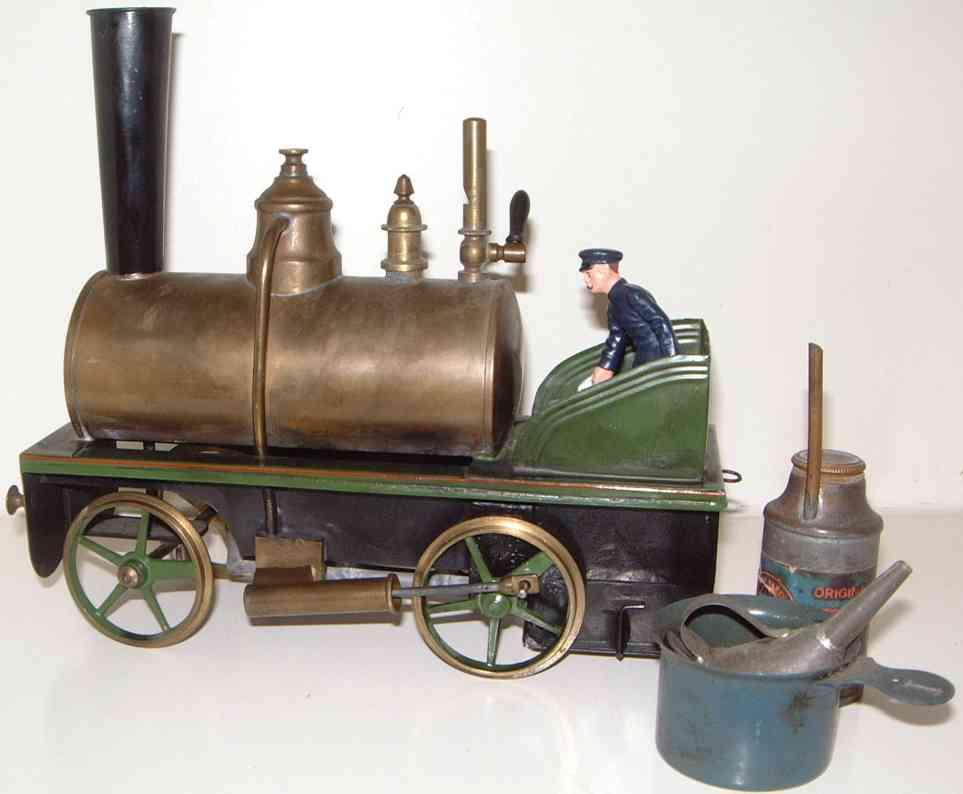 Plank Ernst Spiritusdampflokomotive
