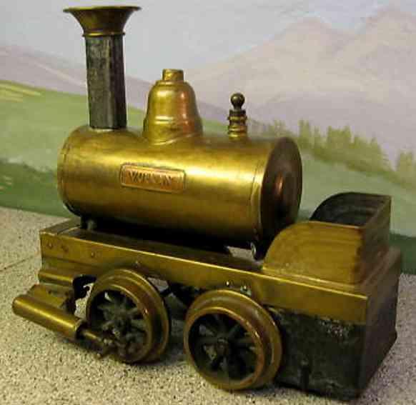 Plank Ernst 403 Spiritus-Dampflokomotive