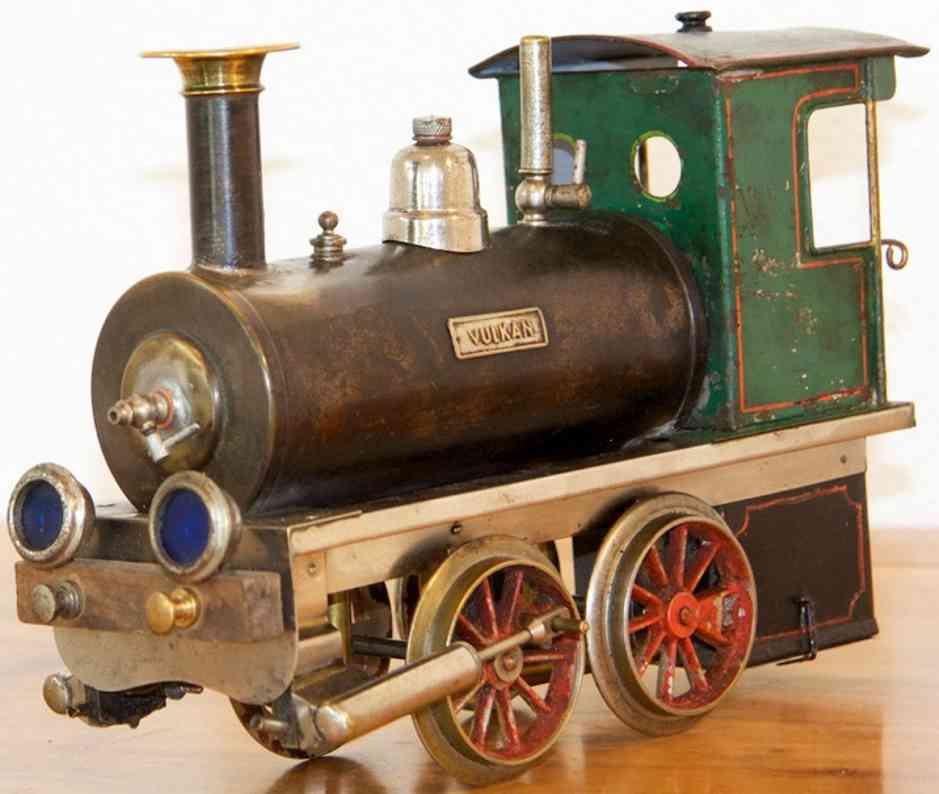 Plank Ernst Spiritus-Dampflokomotive Vulkan