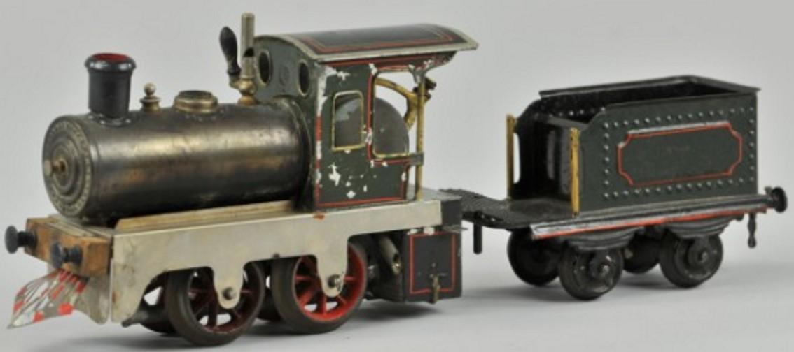 Plank Ernst Echtdampflokomotive