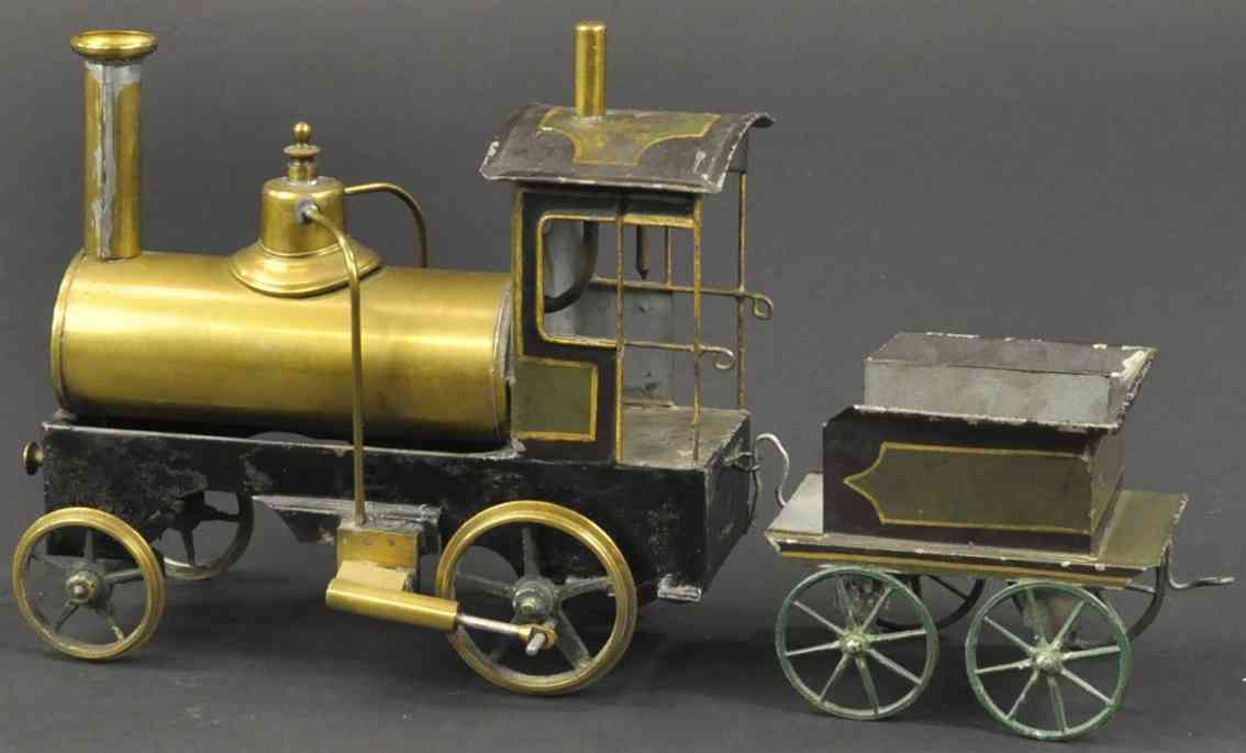 plank ernst eisenbahn spur 4 dampflokomotive tender