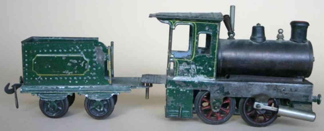 Plank Ernst  Spiritus-Lokomotive