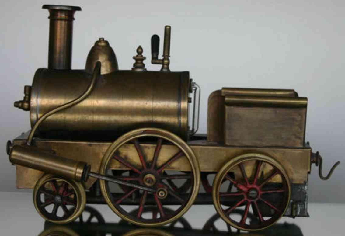 Schoenner Spiritusdampflokomotive spur 3