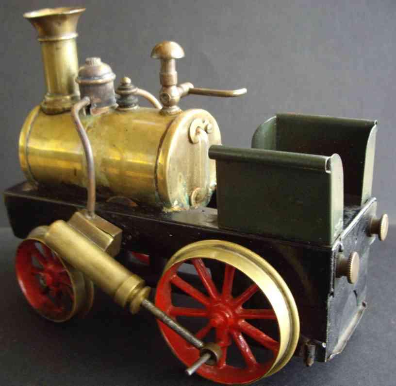 schoenner spielzeug eisenbahn spiritusdampflokomotive spur 3