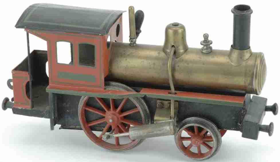 Schoenner Locomotive Live Steam Engine
