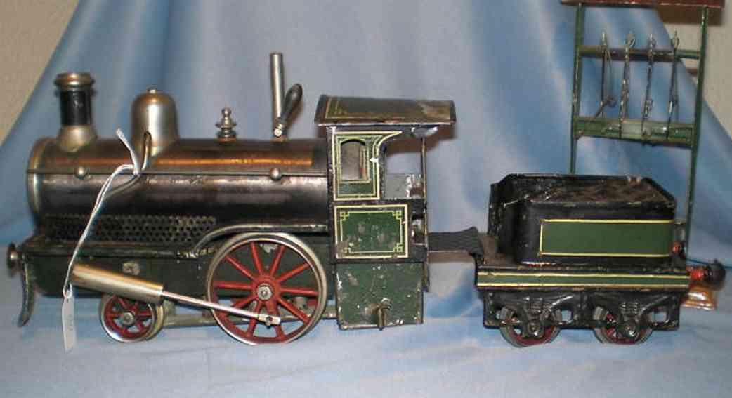 Schoenner 117 L Storchenbein Spiritus Dampflokomotive
