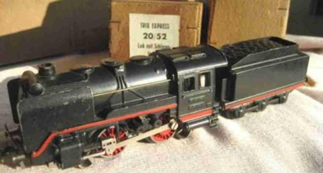 Trix 20/52 Lokomotive mit Schlepptender