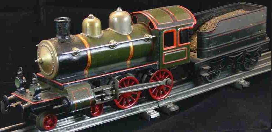 Express-Uhrwerk-Dampflokomotive