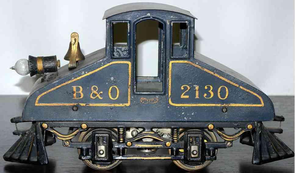 voltamp 2130 spielzeug eisenbahn lokomotive dunkelblau spur 0
