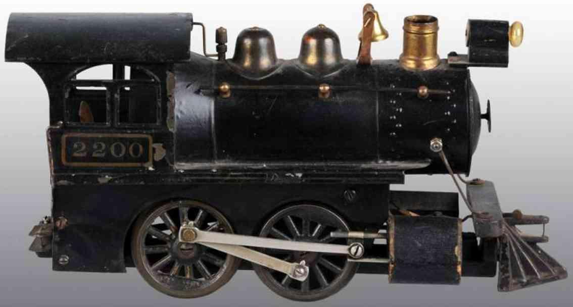 voltamp 2200 040 spielzeug eisenbahn lokomotive standard gauge