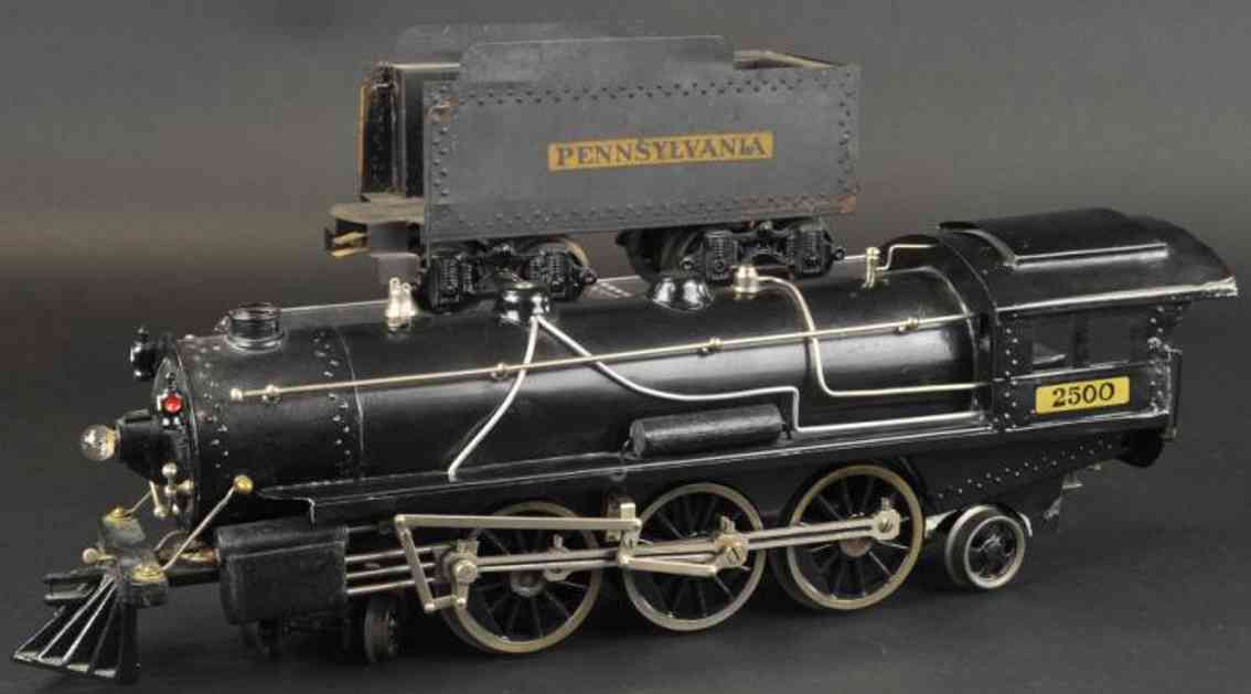 voltamp 2500 spielzeug eisenbahn lokomotive pennsylvania tender
