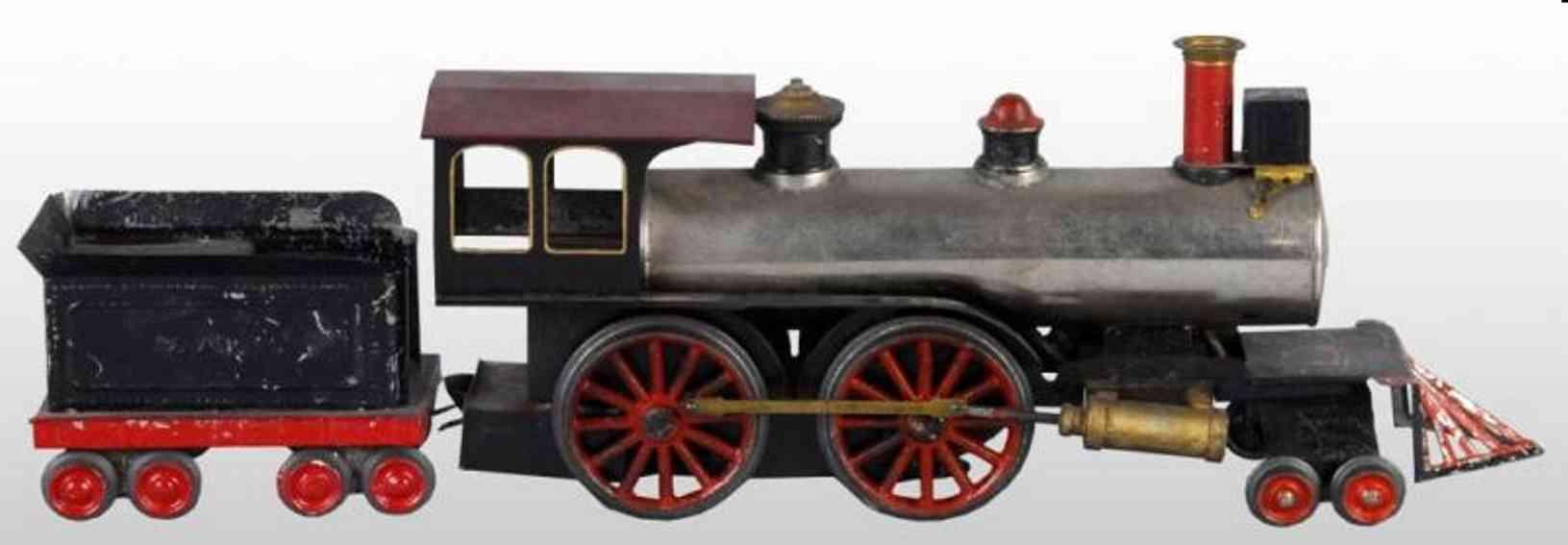 Weeden 3 Dampflokomotive mit Tender 1 & ARR