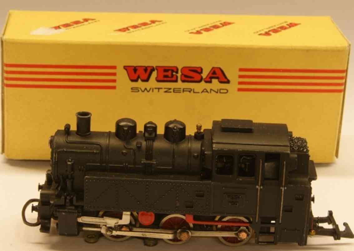 wesa 160 spielzeug eisenbahn lokomotive tenderlokomotive c, br 80 db, in schwarz