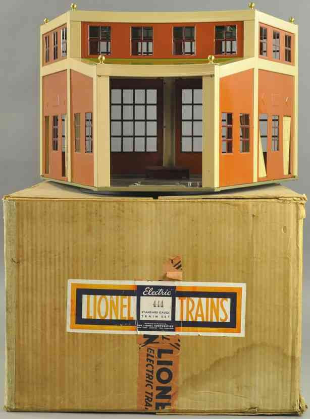 lionel 444 railway toy roundhouse stall standard gauge