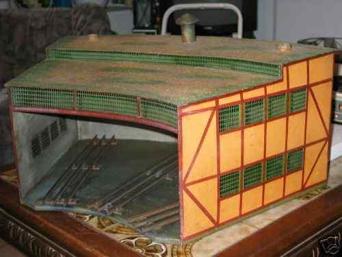 maerklin CE 2116/1 el spielzeug eisenbahn rundlokschuppen mit 3 elektrischen gleisen