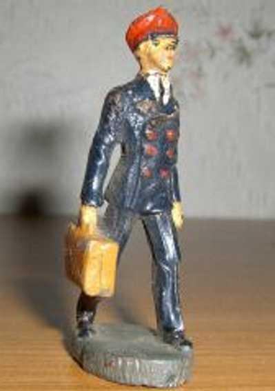 Hausser Elastolin 0/6633 Mann mit Koffer