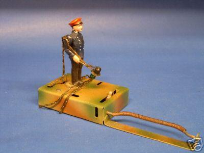 kibri 1/73/1 b spielzeug eisenbahn figur bahnhofvorsteher