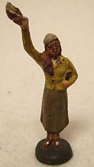 Lineol 187/26 Frau winkt mit Taschentuch