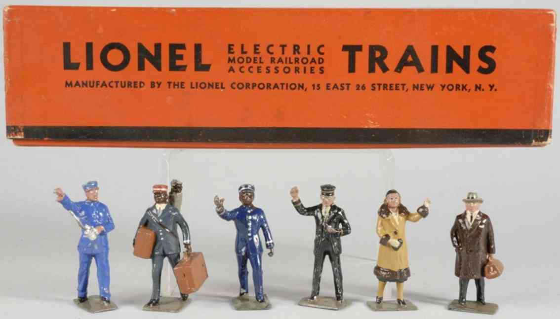 lionel 550 railroad figures 551 552 553 554 555 556