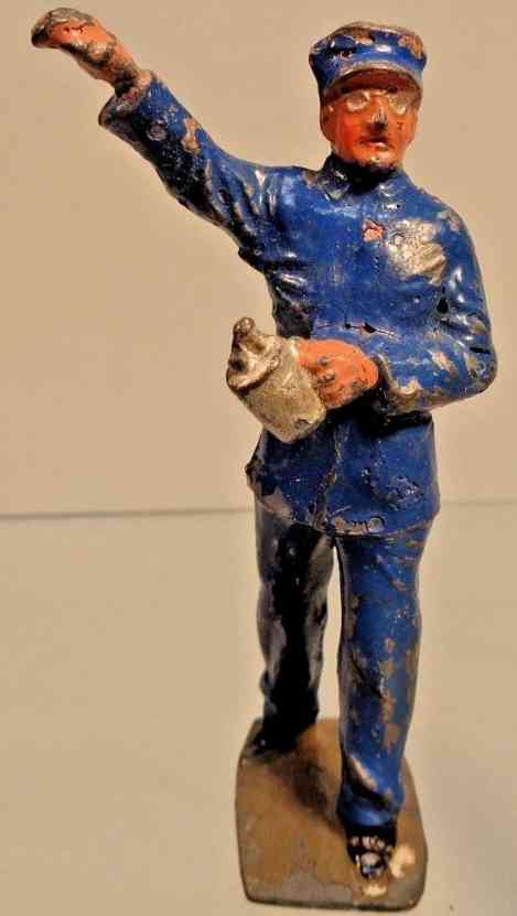lionel 551 railway toy figure diecast engineer by j. hill & co
