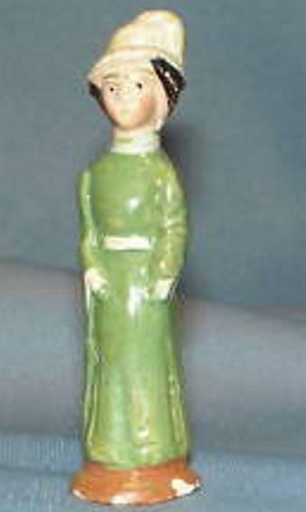 Märklin Frau mit grünem Kleid