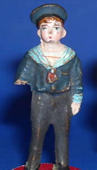 pfeiffer 5540 railway toy figure boy with stick sailor suit liliput-figure